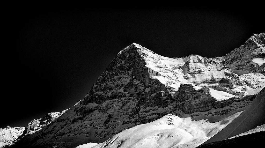 Mountains study 2-Eiger