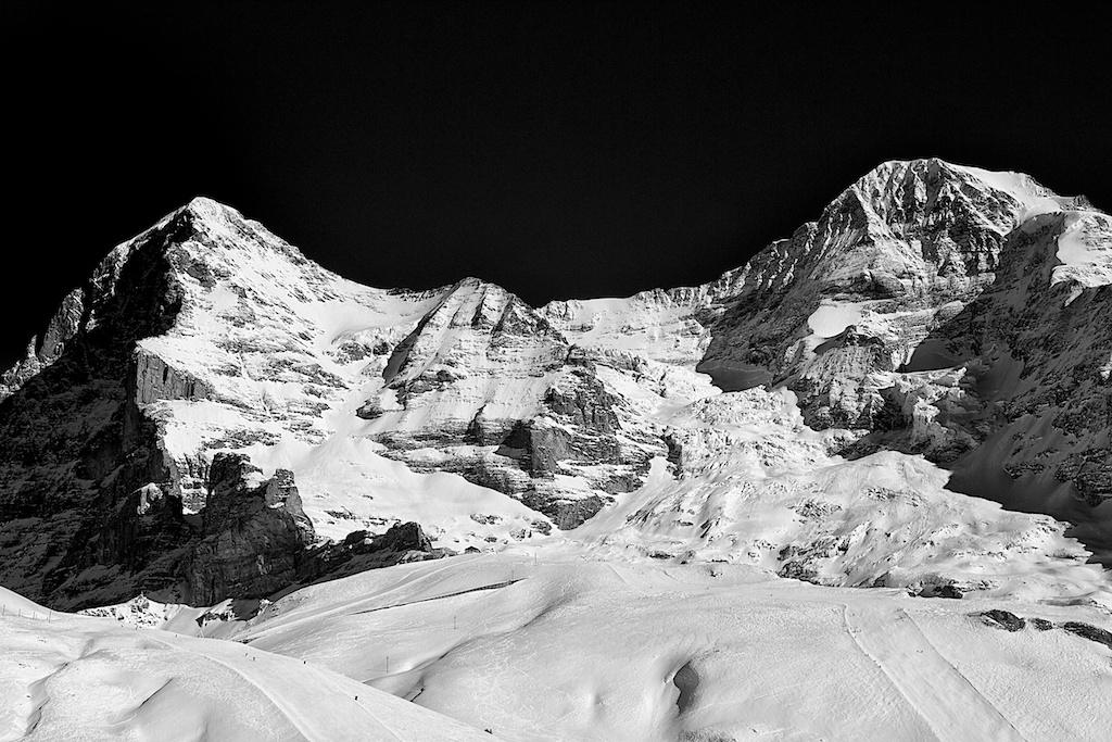 Mountains study 3-Eiger-Monch