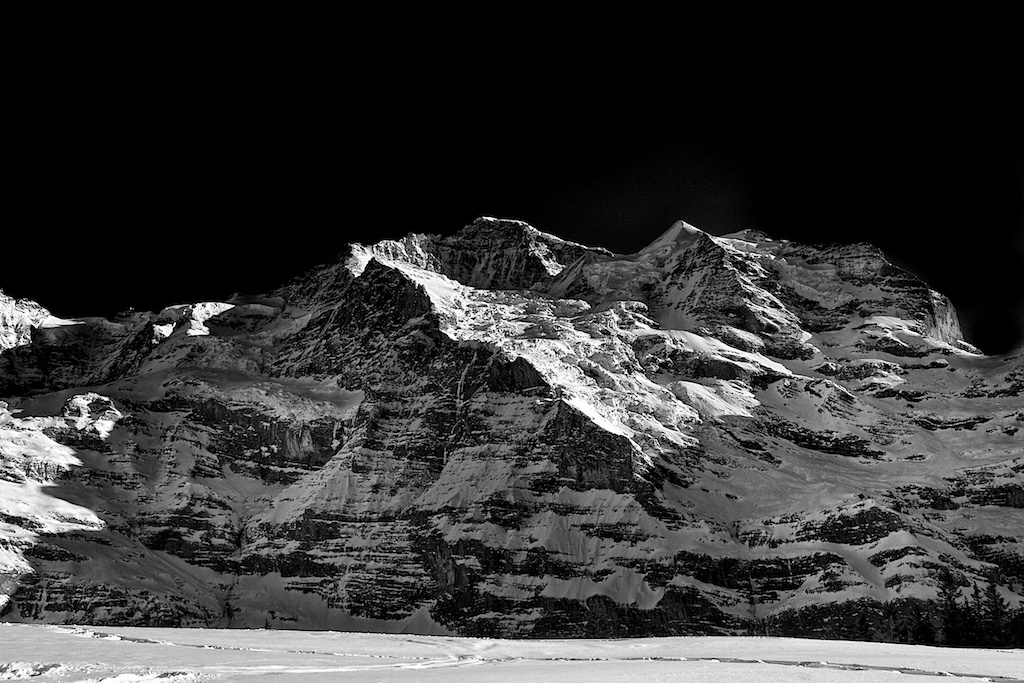 Mountains study 4-Jungfrau
