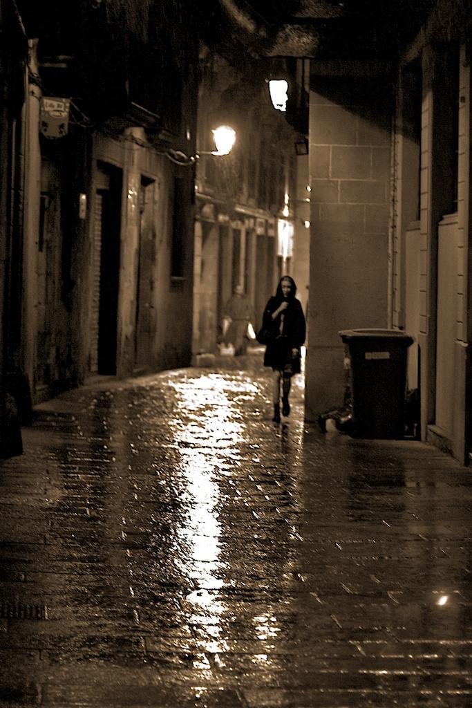 Night Alone Barcelona