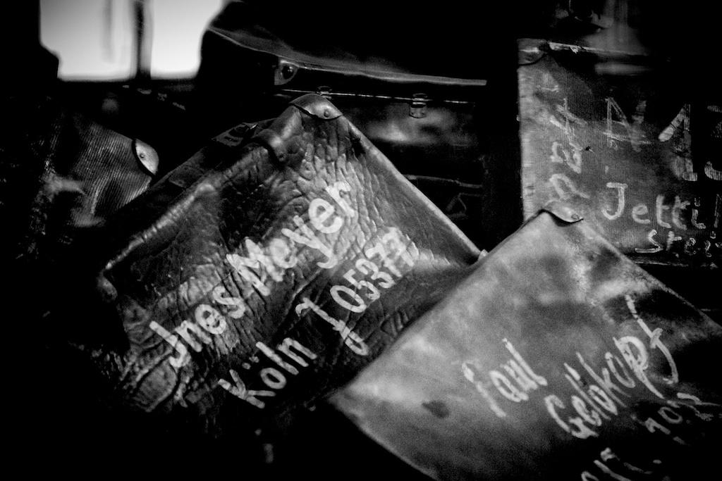 Suitcases @Auschwitz-Birkenau