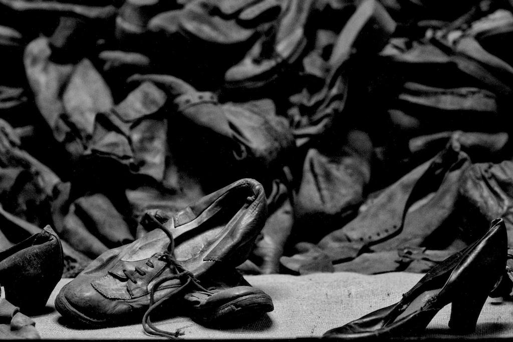 Victims shoes @Auschwitz-Birkenau