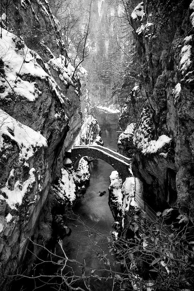 winter in Gorges des Arause