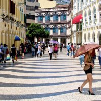 Calcadas in Macao