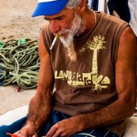 Culatra fisherman