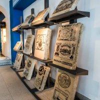 Tuna tin designs in the Museum