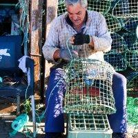 Fisherman at Santa Luzia