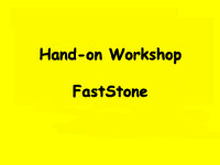 Workshop FastStone January 2018