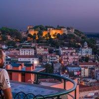 Lisbon Night Fall