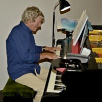 Gordon Railton on piano