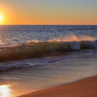 Sparkeling sunset