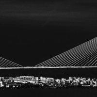 Vasco de Gama Bridge after T-Storm