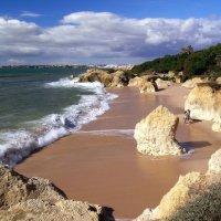 Portugal beach in color