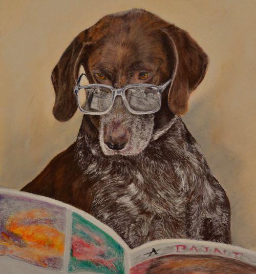 Anya Reading  (Sold)