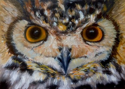 Owl  (Sold)