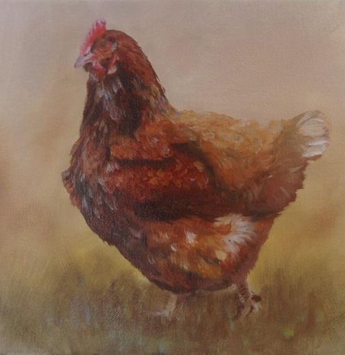 Brown hen (SOLD)