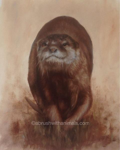 Otter hunt (SOLD)
