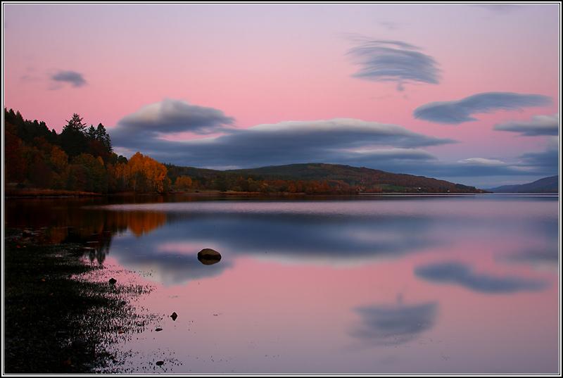 Loch Rannoch Sunset I