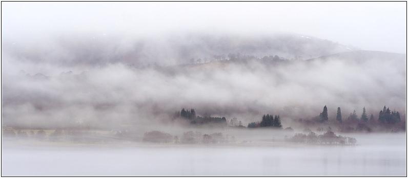 Loch Rannoch Fog II