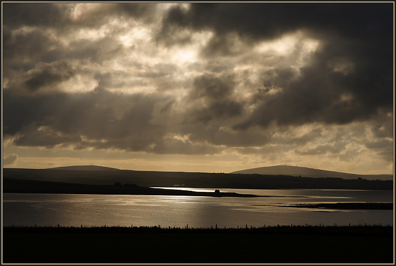 Playing with Light, Holm Sound, Orkney