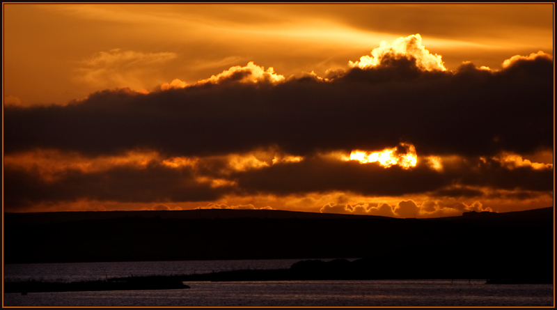 Orcadian Sunset II