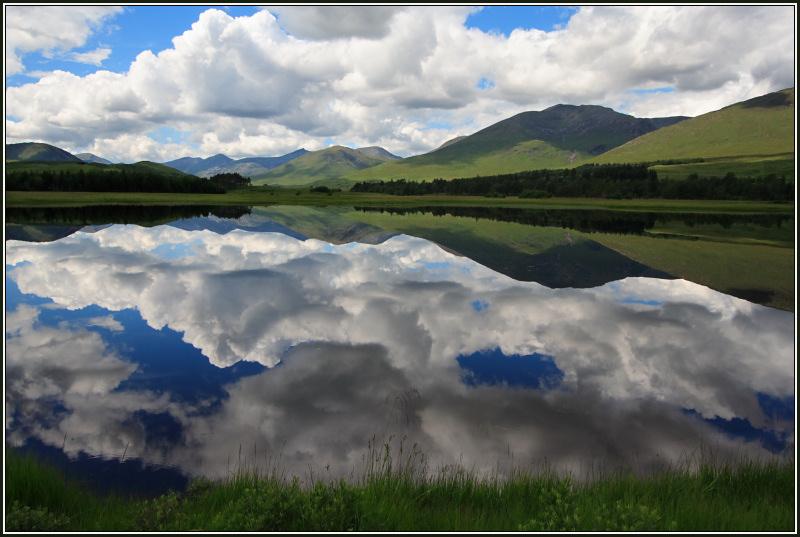 July Reflections, Loch Tulla