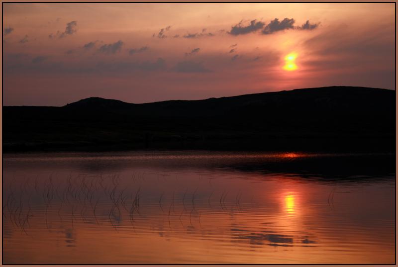 Mock Mirage Sunset
