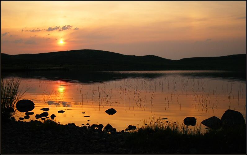 Mock Mirage Sunset III