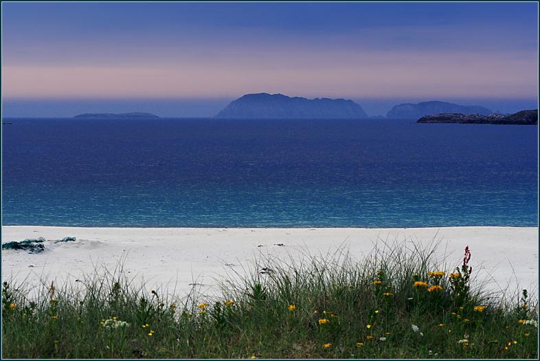 Bhaltos Beach Sunset