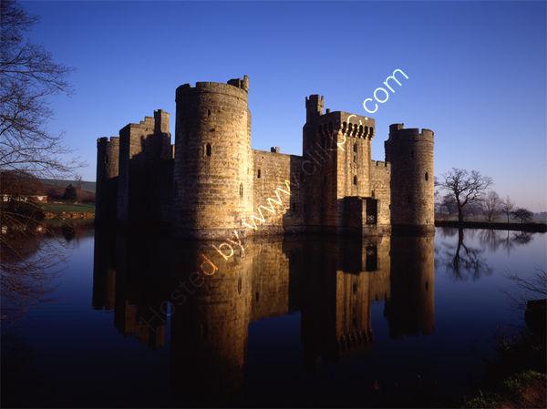 West Sussex: Bodiam Castle