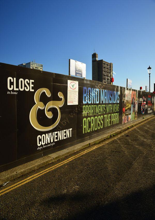 London: North Kensington: Bond Mansions