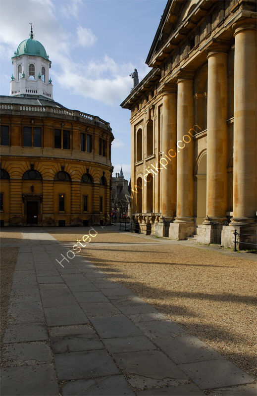 Oxford: Sheldonian Theatre and Bodleian Library