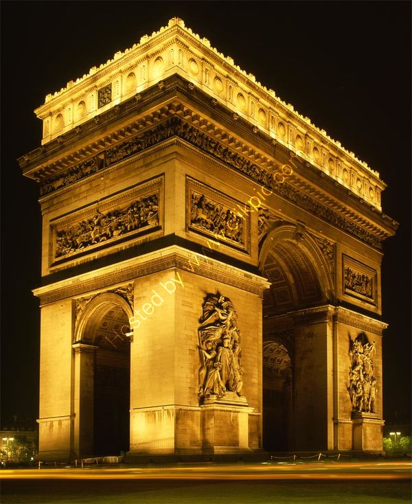 France: Paris: l'Arc de Triomphe