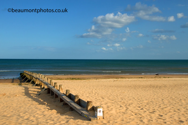 Clouds and a Groynes