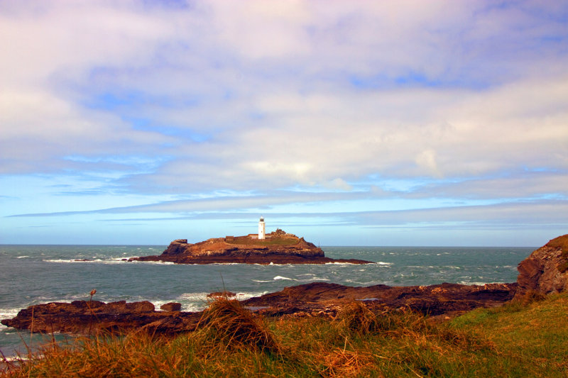 Godrevy Lighthouse. Cornwall
