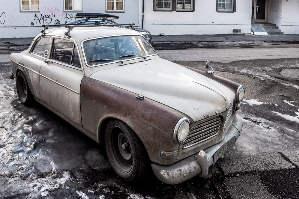 Old Volvo Amazon