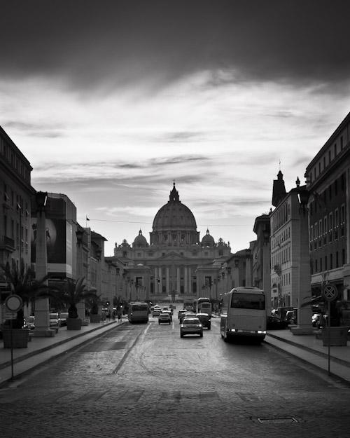 Via della Concilliazone with St. Peter