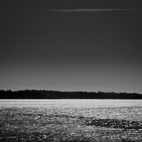 Glittering Sea
