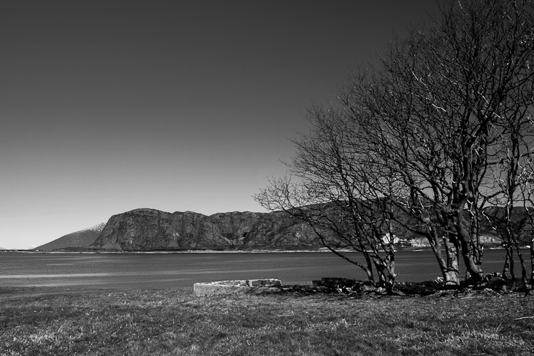 View from Giske