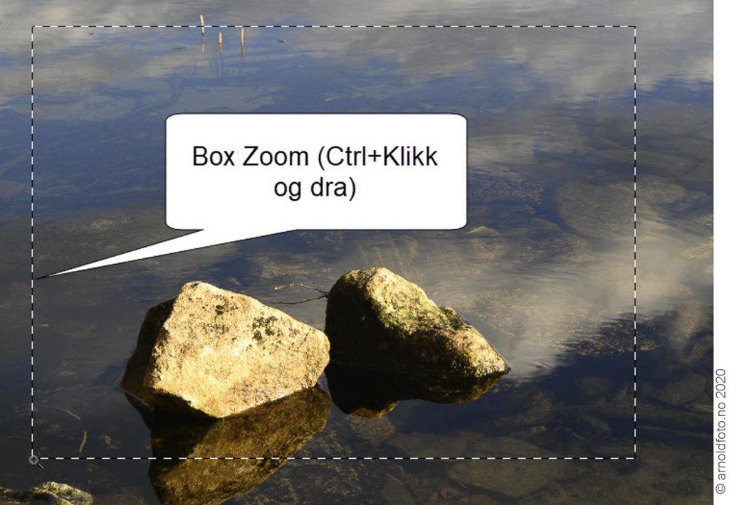 Lightroom Classic 10 - Box Zoom