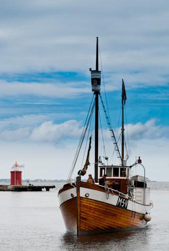 Heland, tidstypisk fiskebåt