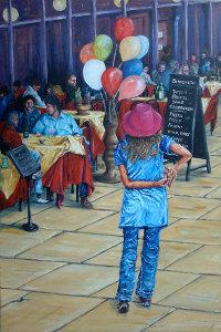 Balloon Girl in Verona