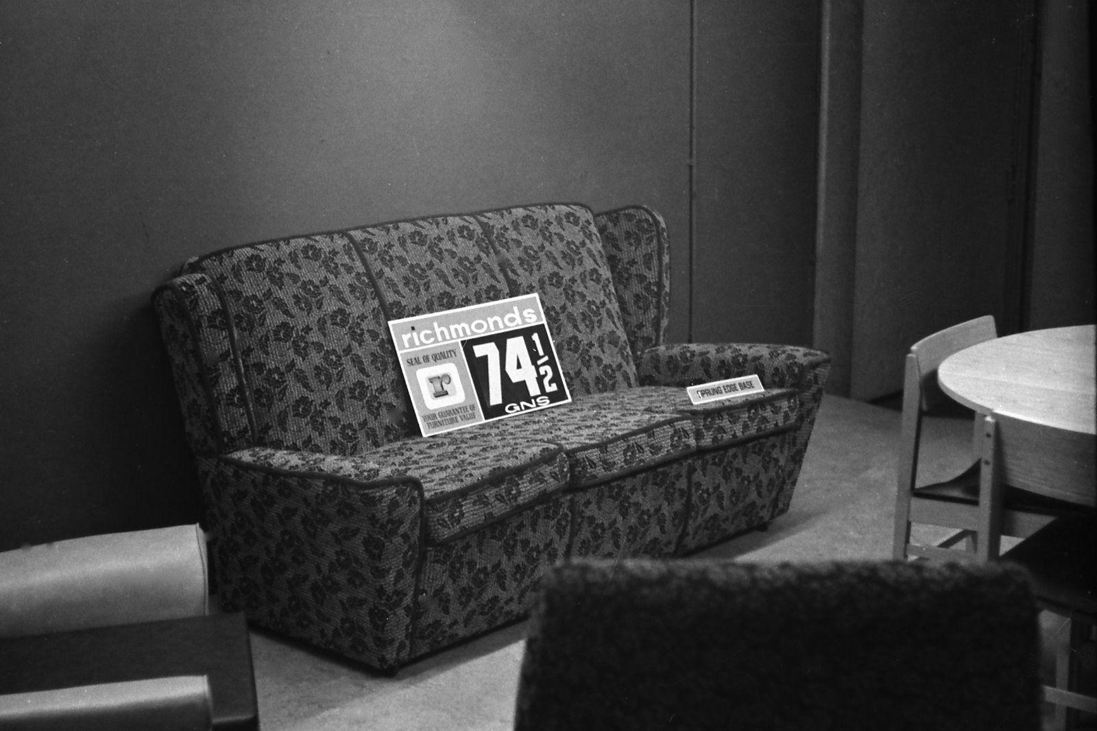 Furniture Retail store 1960's
