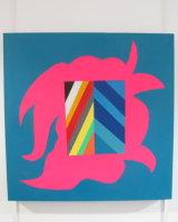 Hazard ahead :  acrylic on canvas   60 cm x  60  cm : £145