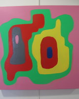 Entwined :  Acrylic  60 cm x 60 cm on canvas : £165