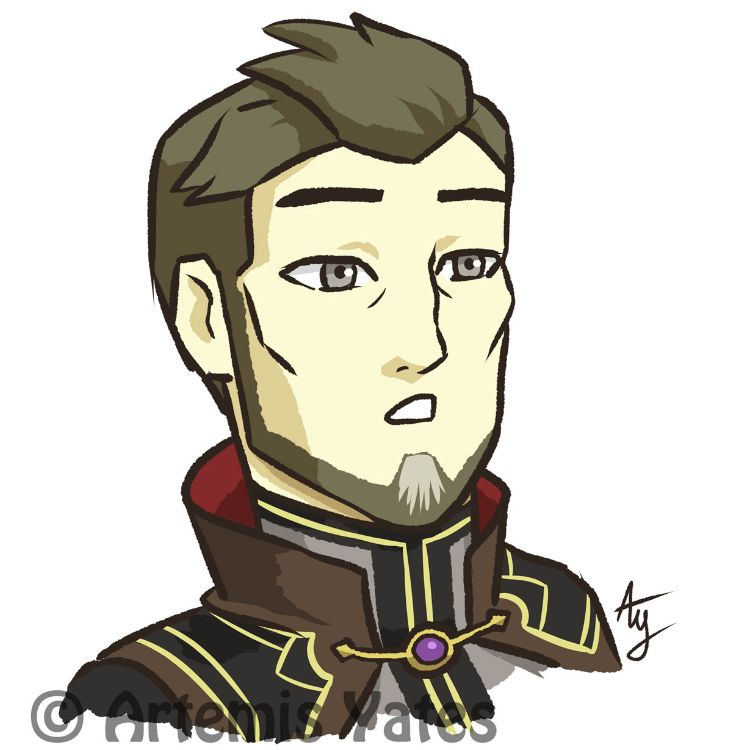 The Dragon Prince Daily - Day Six - Blank Surprised Viren