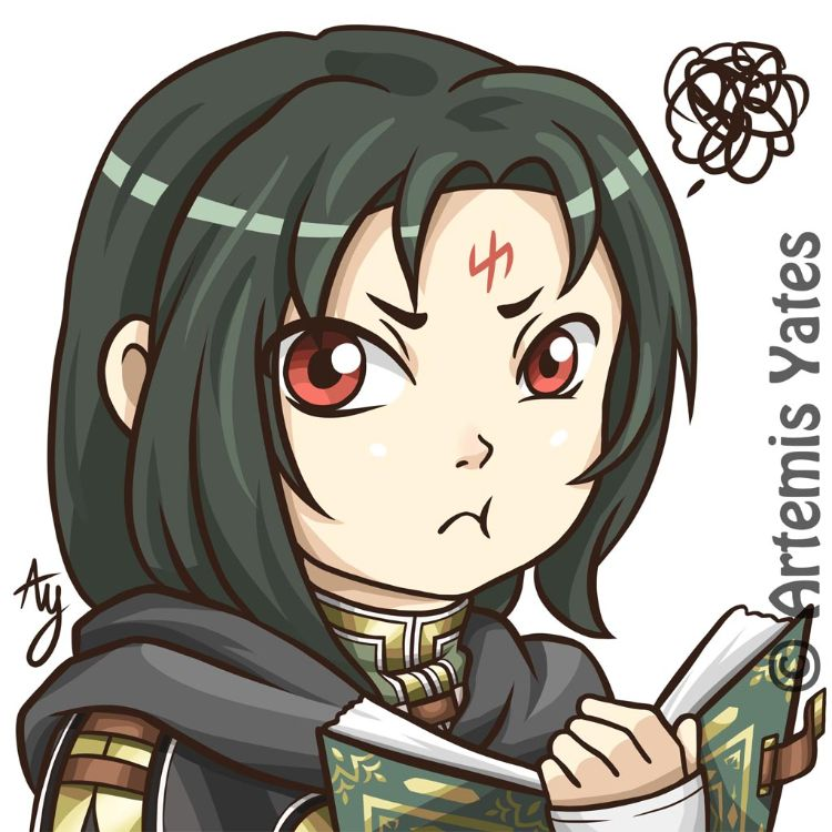 Fire Emblem Grumpy Soren Chibi