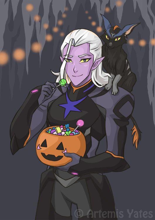 Voltron Halloween Lotor and Kova