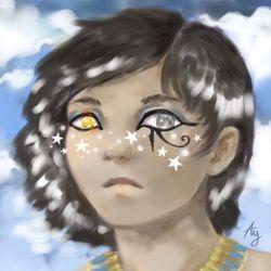 Horus the sky god