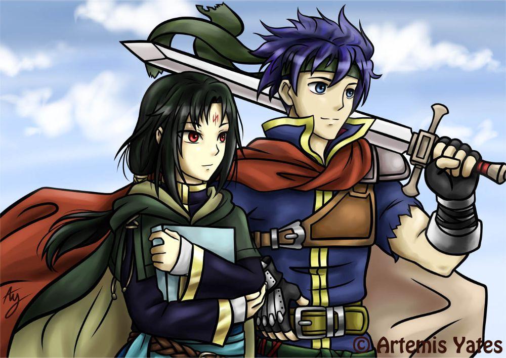 Fire Emblem Ike and Soren